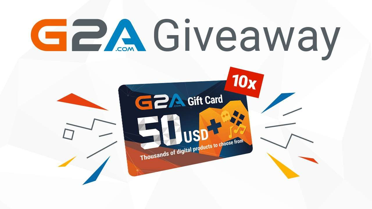 G2a 50 gift code giveaway 50th gifts coding giveaway