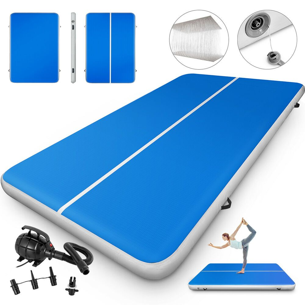 10ft Airtrack Inflatable Air Track Training Gymnastics Junior Playing Gymnastics Pad Gymnastics Tumbling Mat Gymnastics Training
