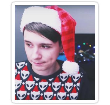 Dan Christmas sticker