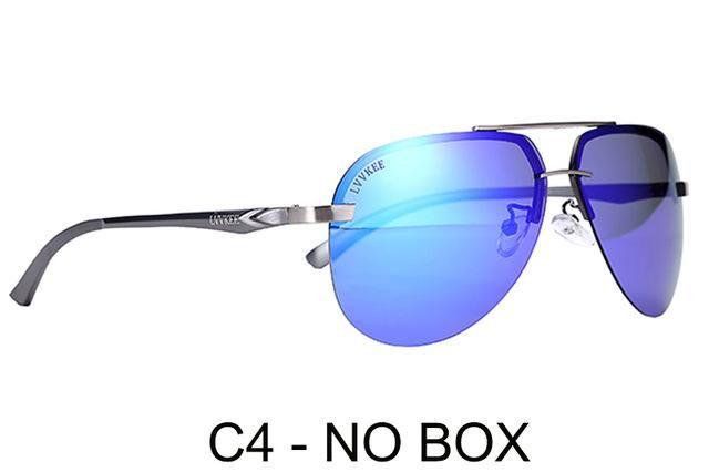 e88cc4ca9f6 LVVKEE 2018 Brand Aluminum Magnesium Polarized Sunglasses Driving Sun  glasses for Men Women fishing Eyewear