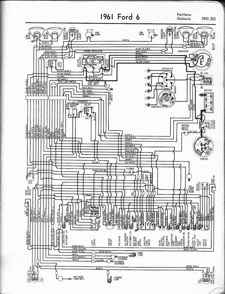 1961 ford generator wiring diagram  wiring diagram wave