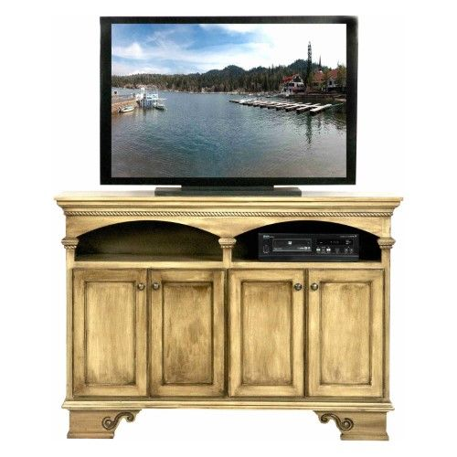 Eagle Furniture American Premiere 58 In Entertainment Console With 4 Doors Tempting Turquoise