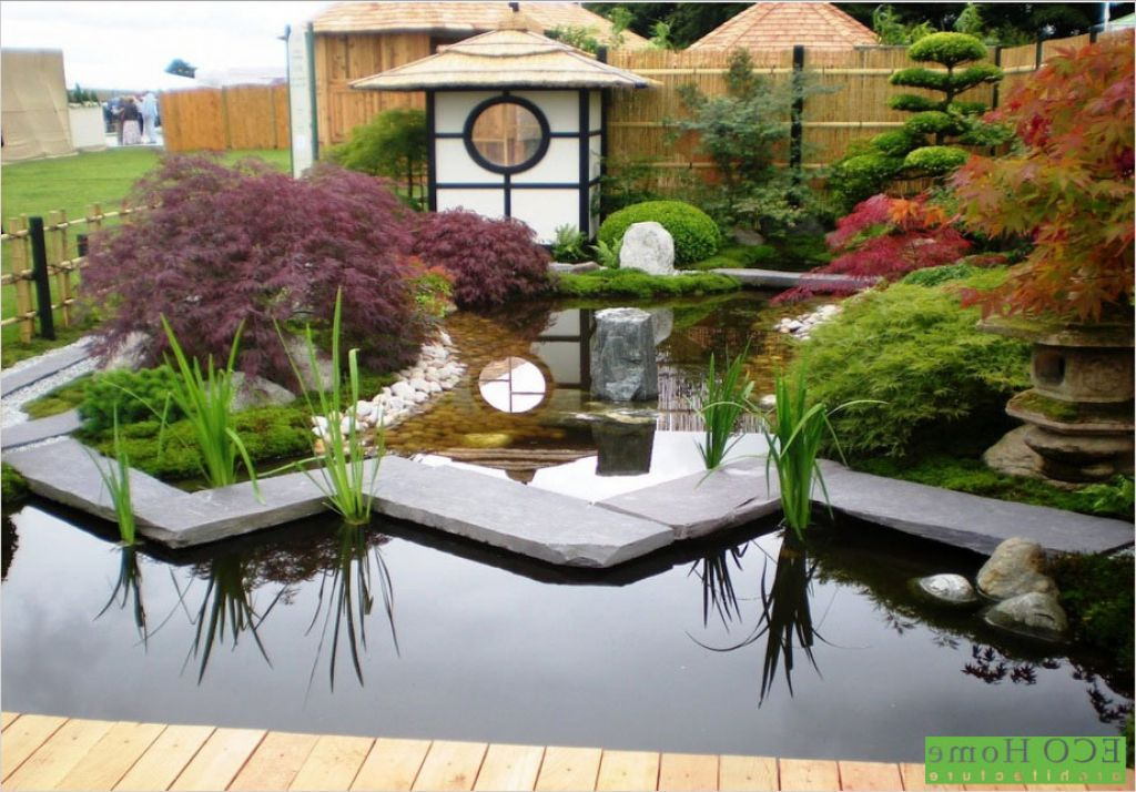 Japanese Garden Designs for Small Spaces with small pool