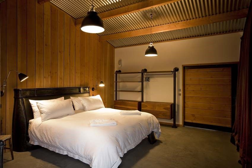 The Bedroom #Laid #LochEriboll #Scotland #cottage #bed #bedroom #interior #design #timber #light #lighting #construction