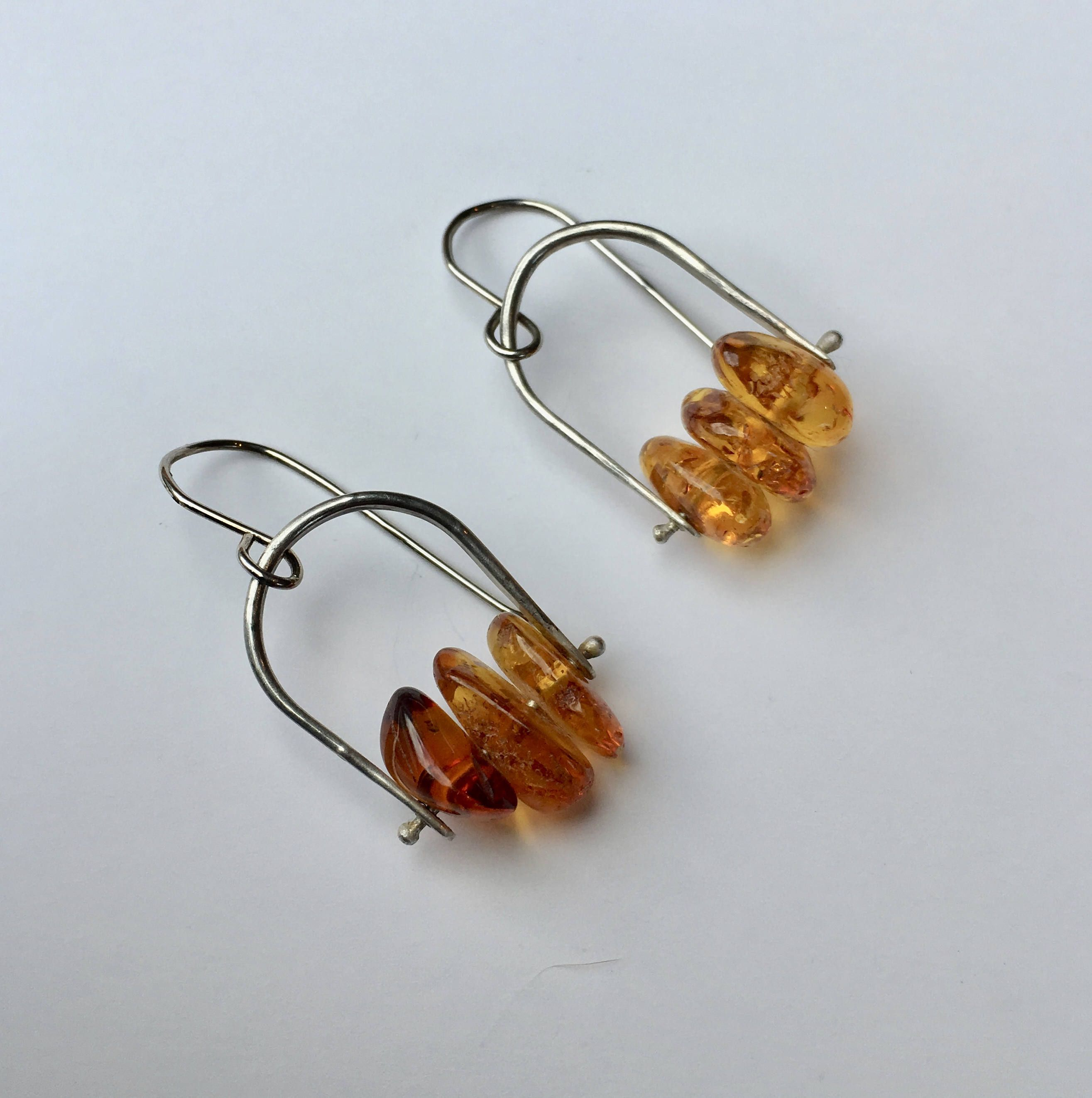 Balti Amber Earrings, Dangle Earrings, Amber Earrings, Amber Jewellery,  Amber, Silver Earrings, Earrings For Women, Gifts For Her, Beads