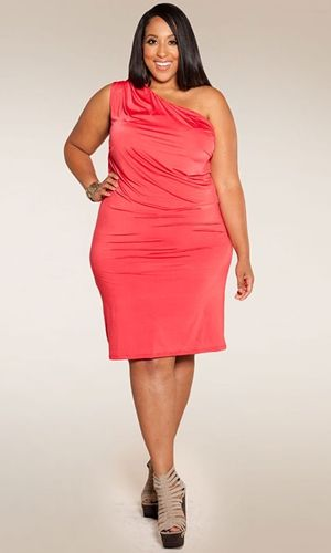 Plus Size Red Dress At Curvaliciousclothes Sizes 1x 6x