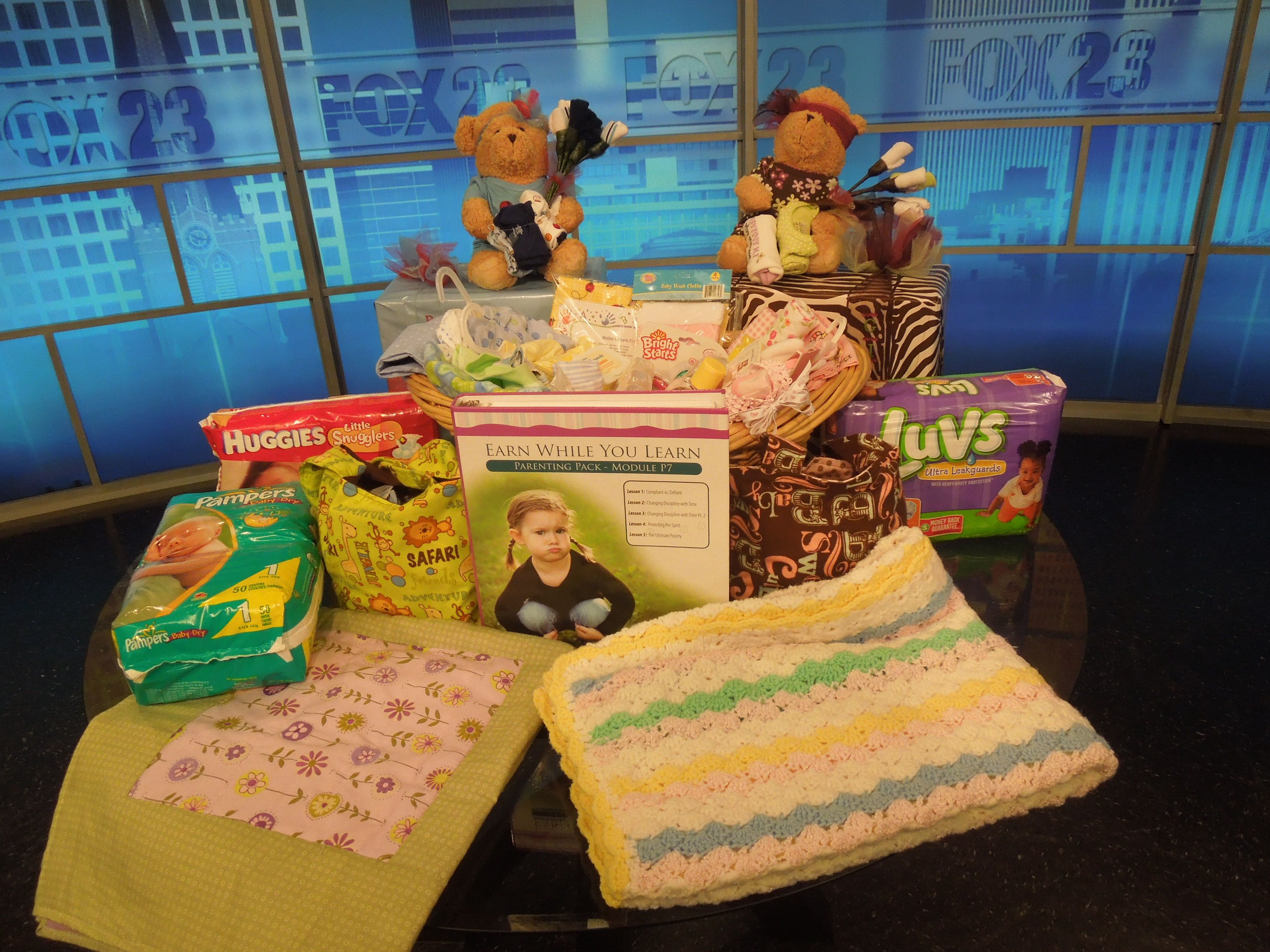 Donate gifts to Hope Pregnancy Center.