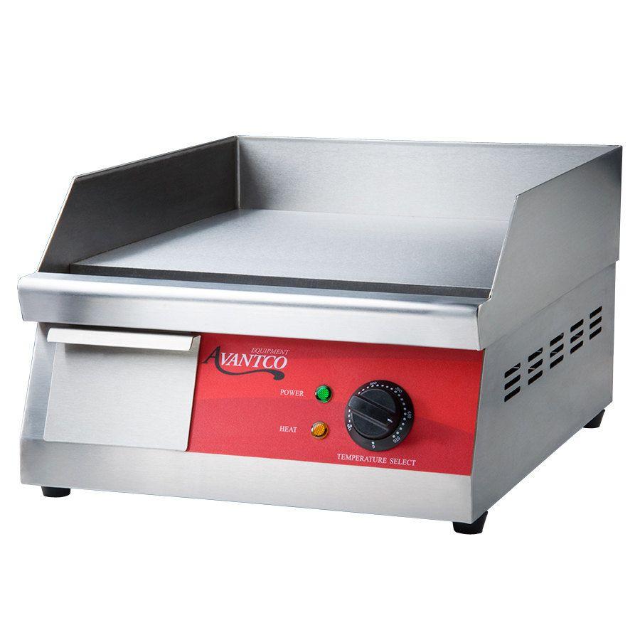 Kitchen Appliances On Credit Avantco Eg16n 16 Electric Countertop Griddle Countertops
