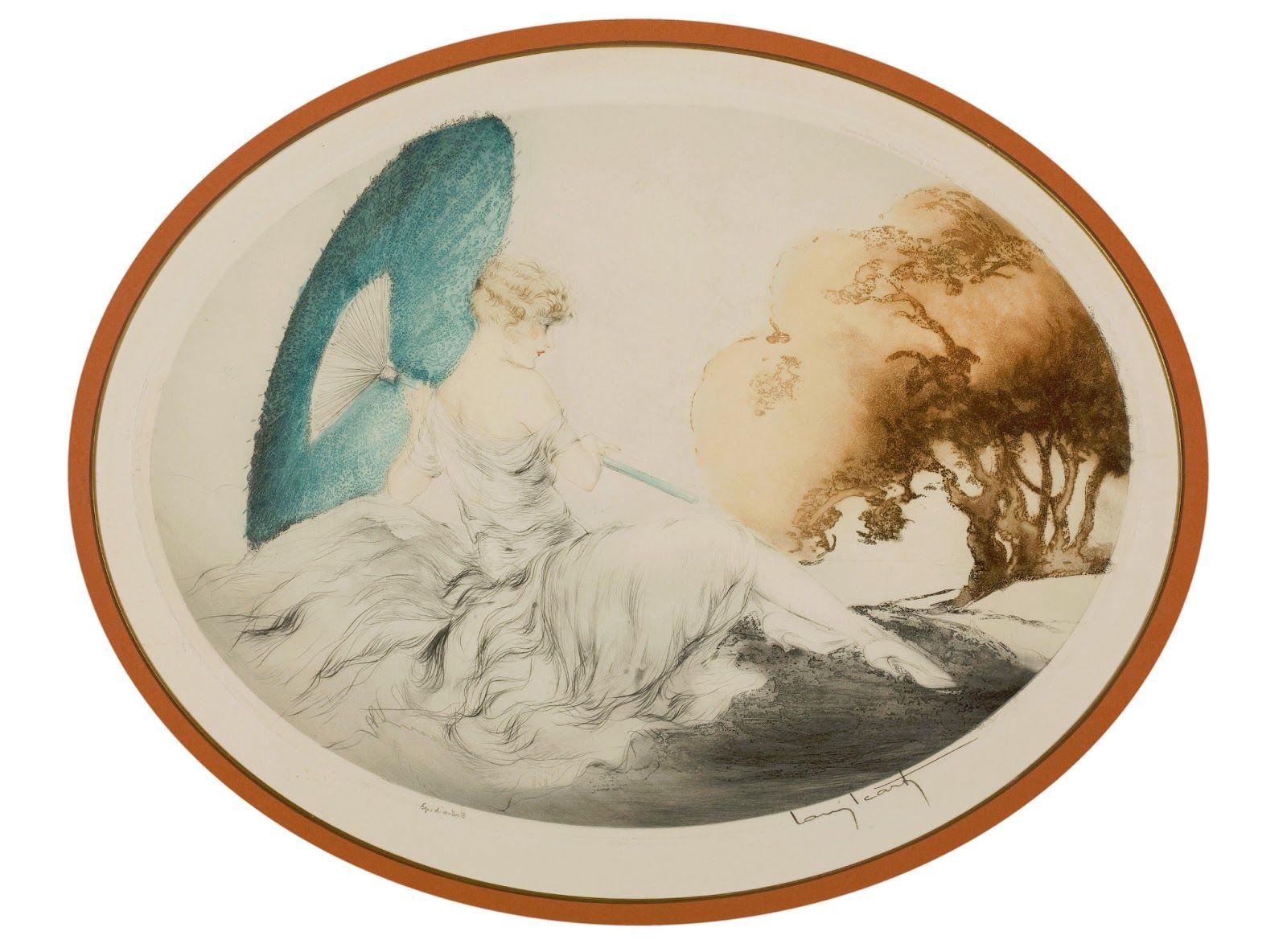 Louis Icart Louis Decorative Plates Lithograph