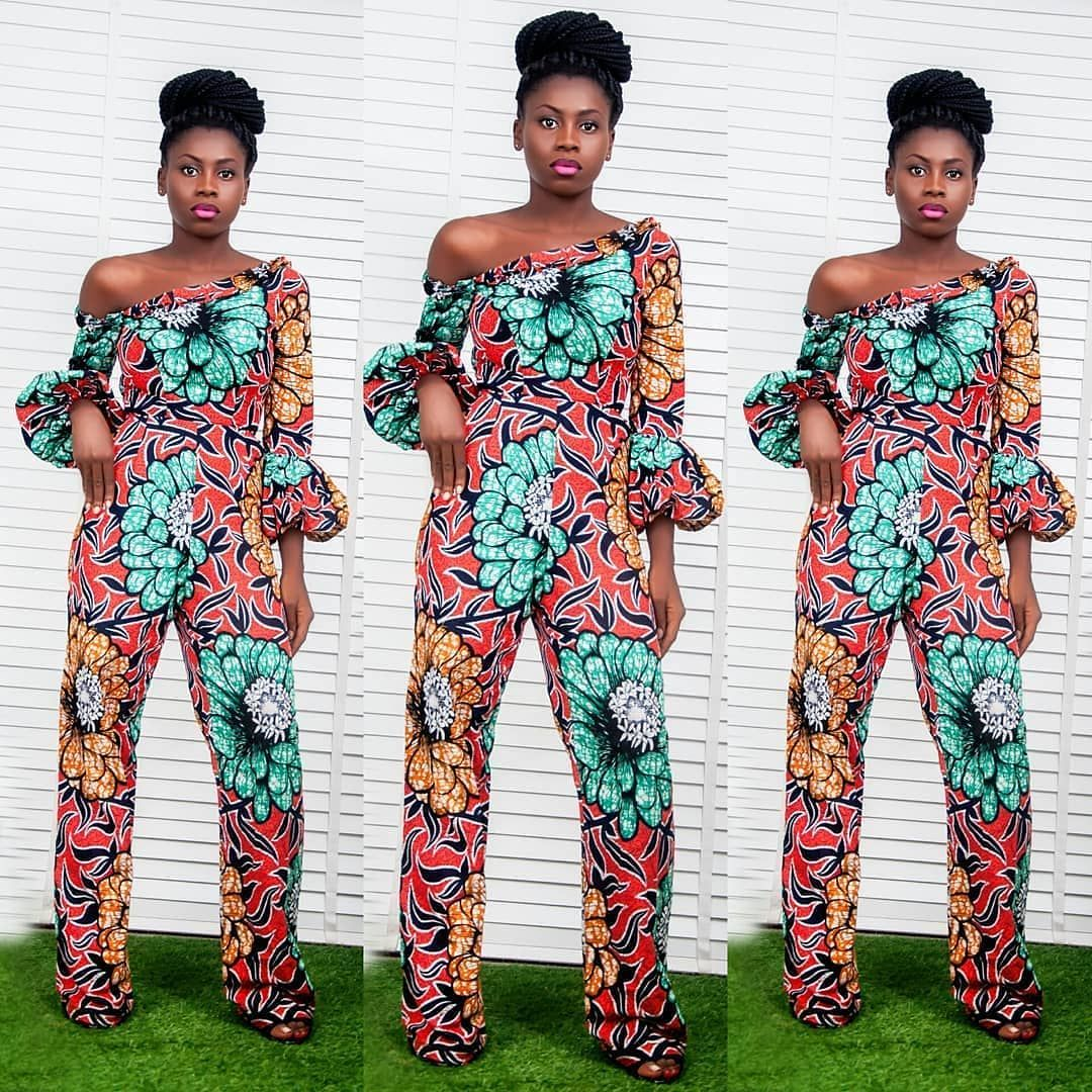 e4ca464f2e88 African Print Jumpsuit Styles 2018 You Need to Express Your Beauty -  Zaineey s Blog