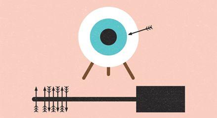 Hva skal du gjøre hvis du får rift på øyet. Illustrasjon: The Project Twins for Synsam Norge