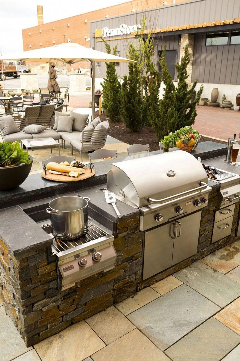 Outdoor Kitchen Areas Have Long Been Prominent In The Cozy Climate Of Australia As Well As The Outdoor Kitchen Patio Outdoor Kitchen Decor Diy Outdoor Kitchen