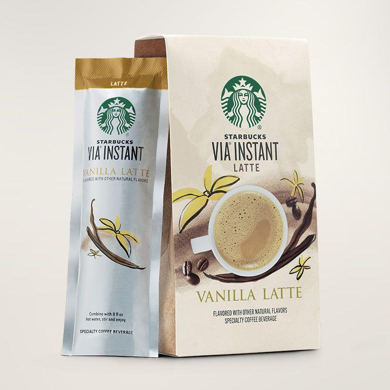 Starbucks VIA® Instant Vanilla Latte
