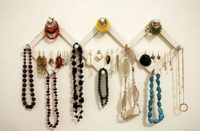 Porte Boucle D Oreille Fait Maison ▷1001+idées pour fabriquer un porte-bijoux soi-même | a faire soi