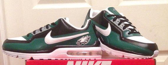 f6eddfccee1 Custom Philadelphia Eagles AirMax LTD Sneaker by AGcustomSneakers ...