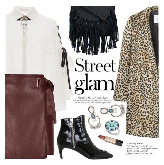 """Street Glam"" by ivansyd ❤ liked on Polyvore featuring Bally, Jonathan Simkhai, Vanity Fair, River Island, MANGO, Estée Lauder, Naeem Khan and DANNIJO"