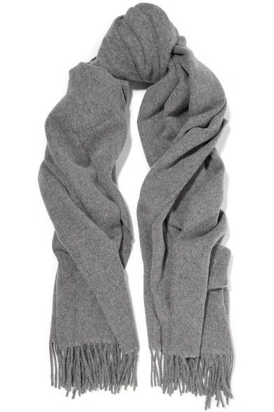 ACNE STUDIOS Canada Fringed Wool Scarf.  acnestudios  scarves   Acne ... c7391bb1c96