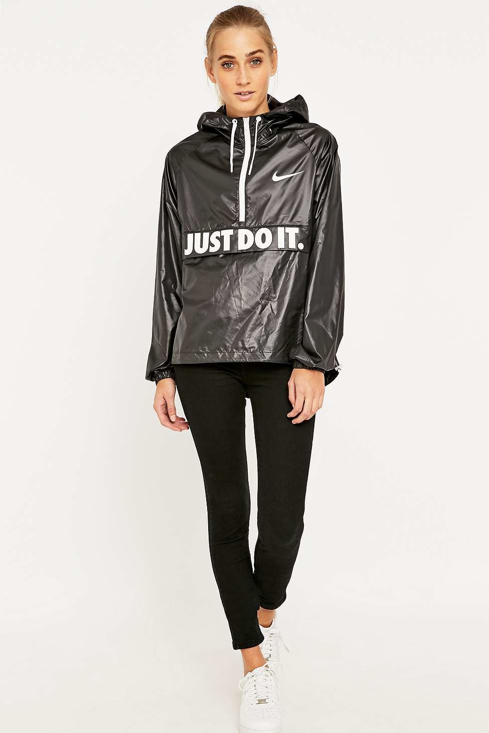 Nike - Black City Packable Jacket - Lyst