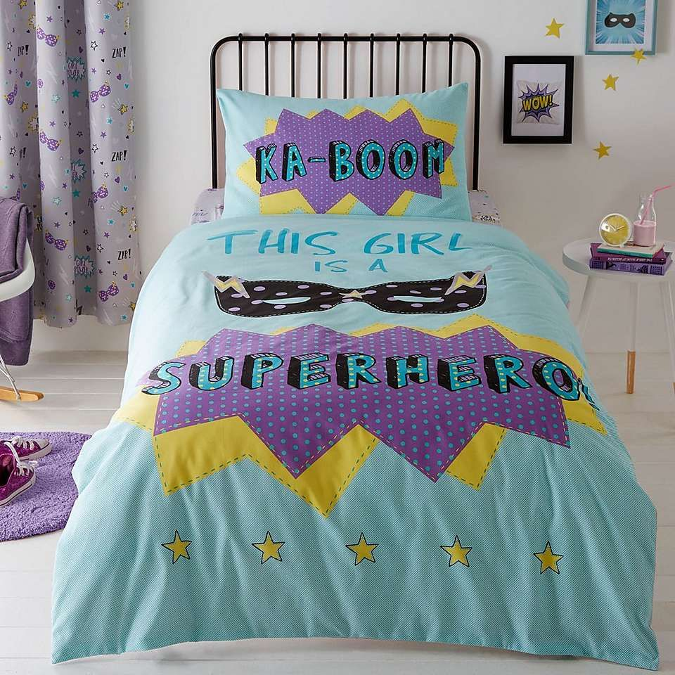 superpop reversible lilac duvet cover and pillowcase set