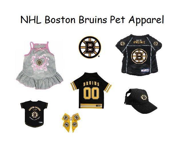 7fb3d1c40 Boston Bruins Dog Clothes   Cat Clothes NHL Licensed Pet Apparel  PetGear