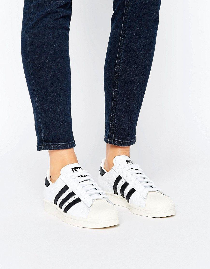 3d357b17da69a Pretty Superstars Adidas Cute Shoes White 80 s Sneakers qaxCwzg