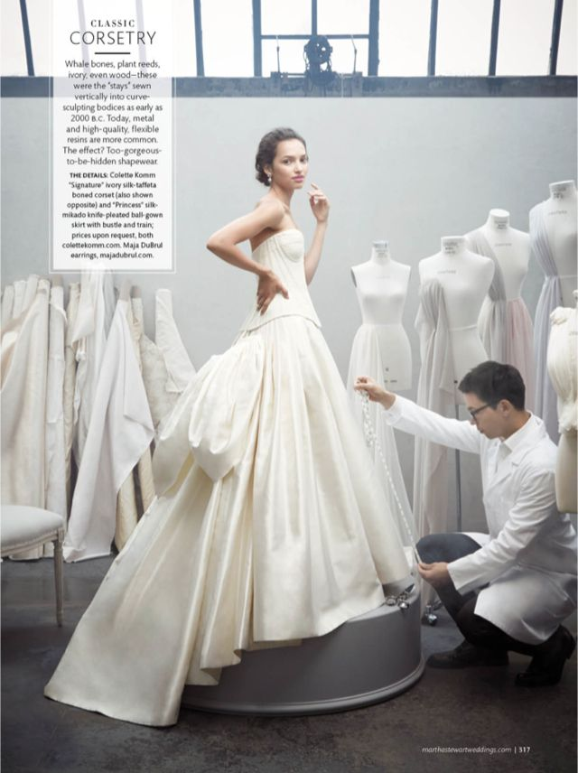 It S All In The Details Martha Stewart Weddings Wedding Dress