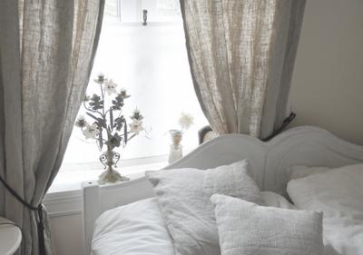 to sleep in white