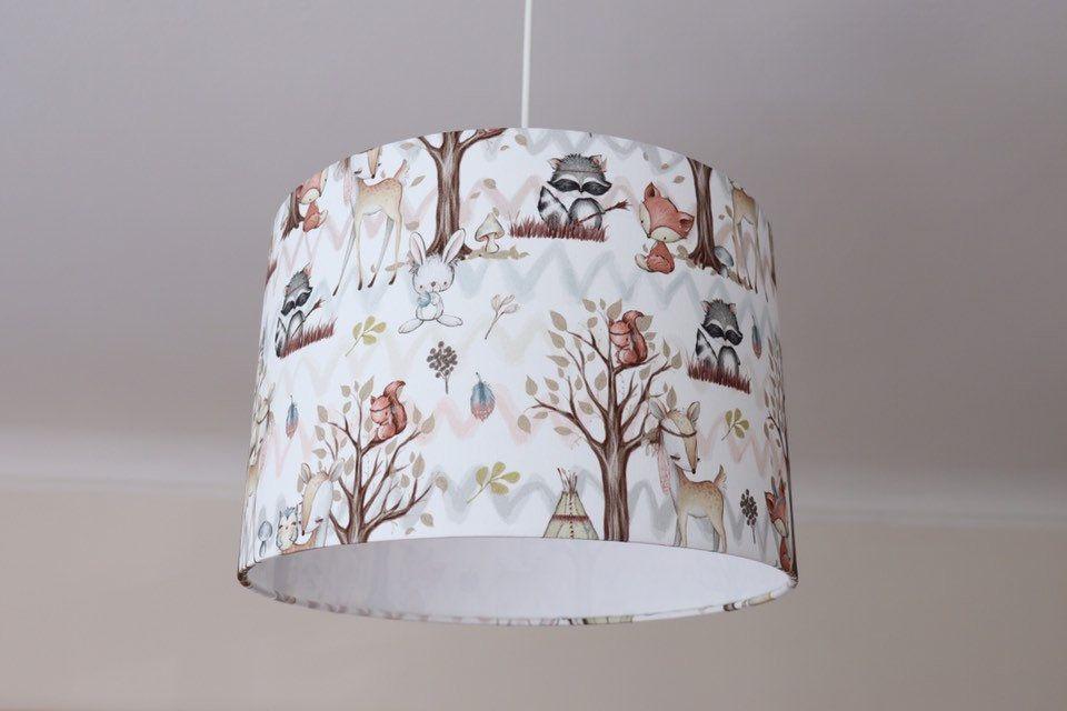 Lampe Kinderzimmer Lampenschirm Mädchen Kinderlampe