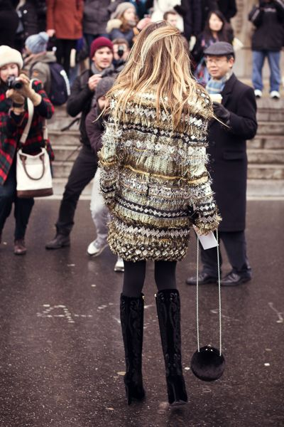 Great silver/gold jacket