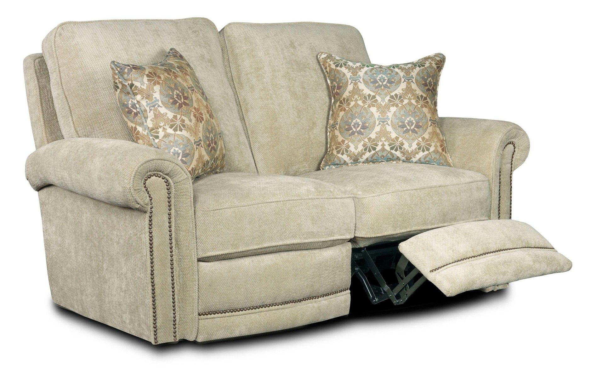 Broyhill Jasmine Double Reclining Loveseat | Living Room | Raleigh ...