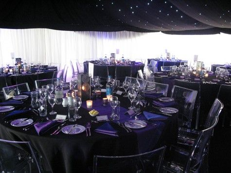 Boho Planned Events 21st Birthday Party Purple And Black Theme