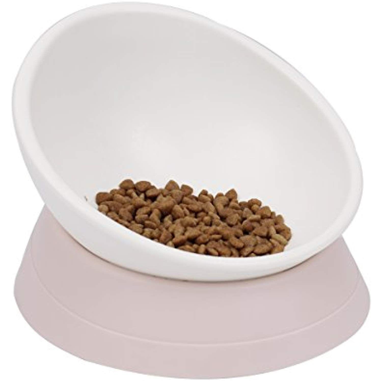 Speedy Pet Free Tiltable Design Cat Puppy Food Bowl Non Slip Angle