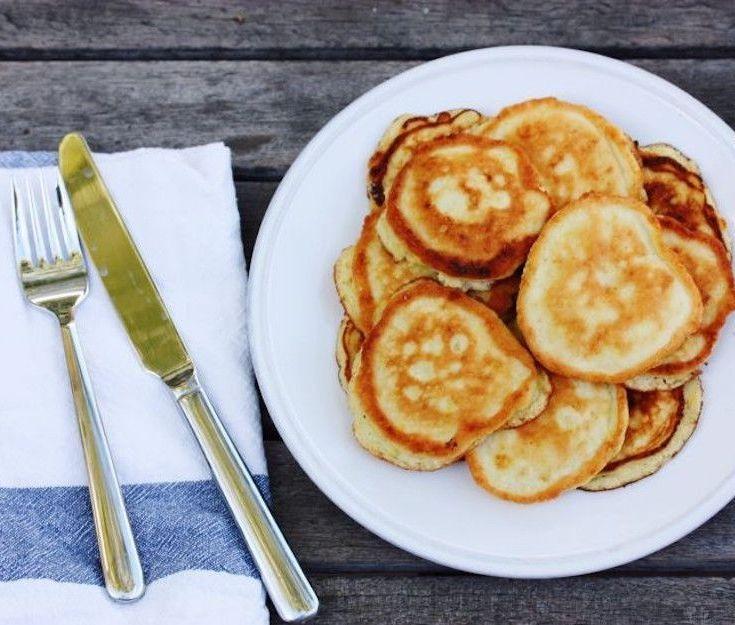 Coconut flour pancakes recetas para cocinar receta para for Desayunos sin cocinar