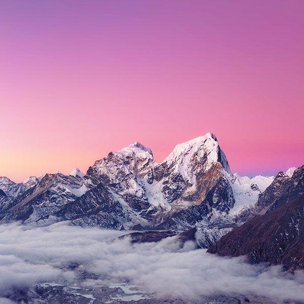 Ipapers Co Me89 Himalaya Sunset White Mountain Art Mountain Art Wallpaper Hd Wallpaper
