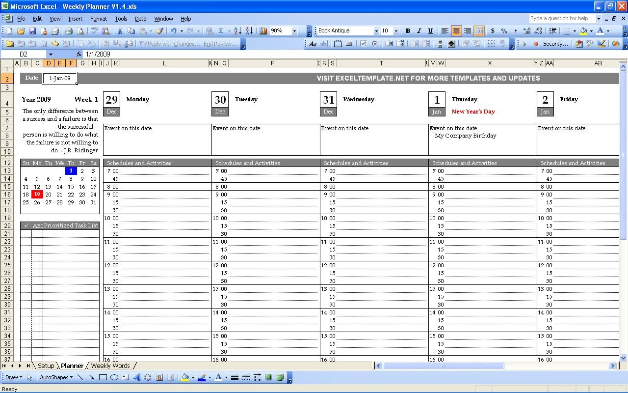Following my daily planner template i created weekly for Free online room planner no download