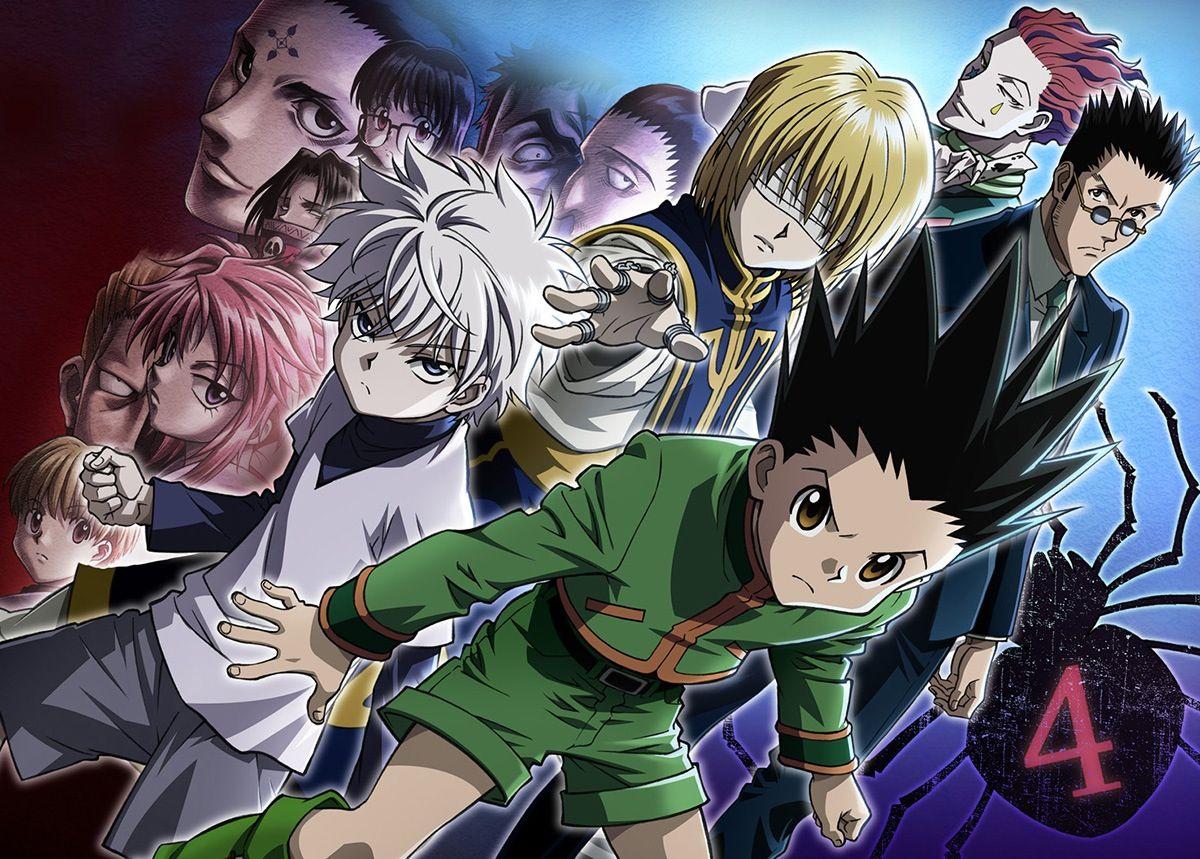 Phantom Troupe, Kurapika, Gon, Killua, Leorio, and Hisoka