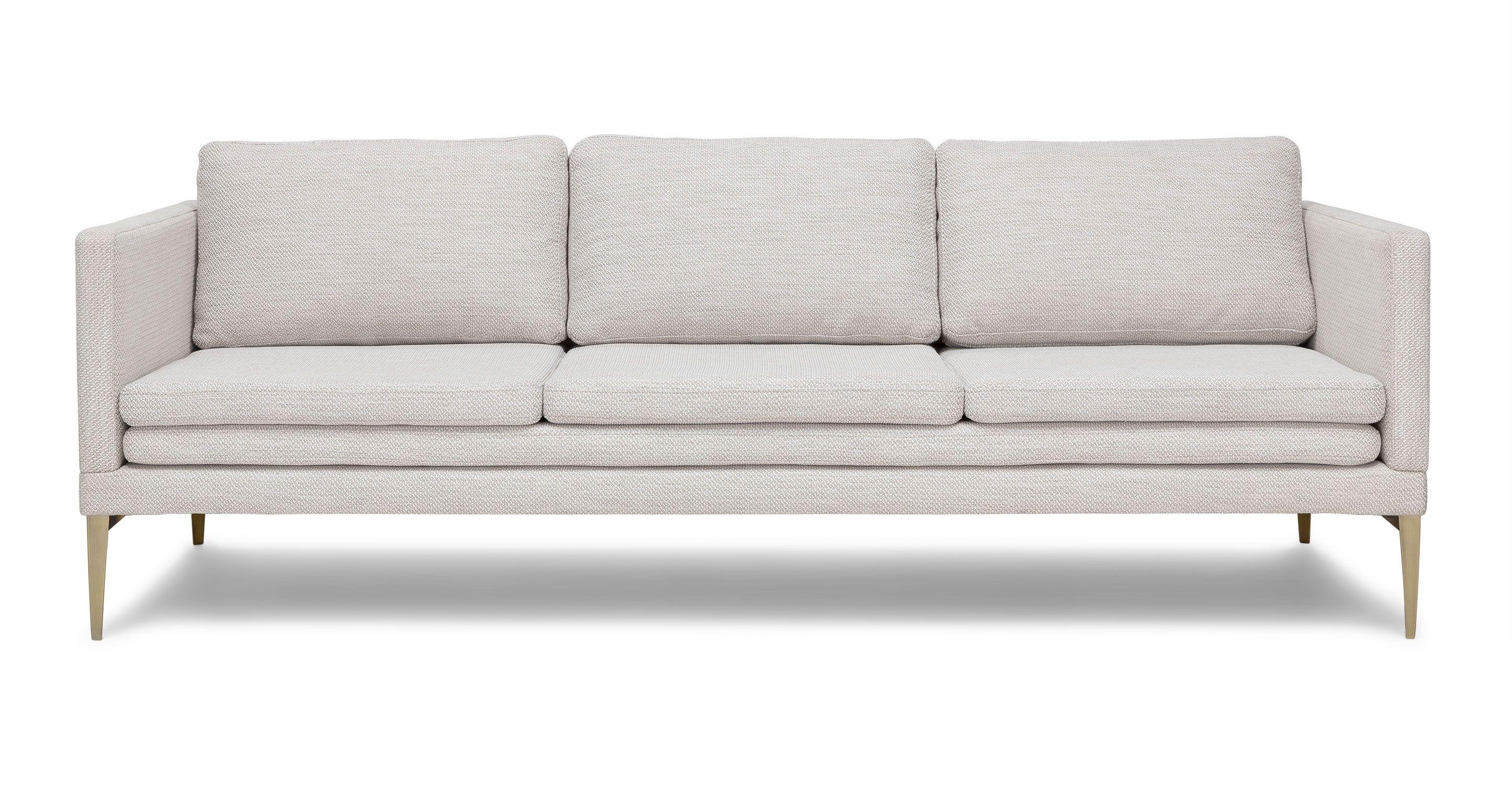 Triplo Milkyway Ivory Sofa Mid Century Modern Sofa Scandinavian