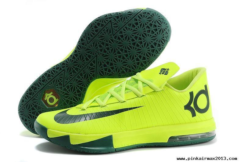Nike KD VI  Green Green For Sale