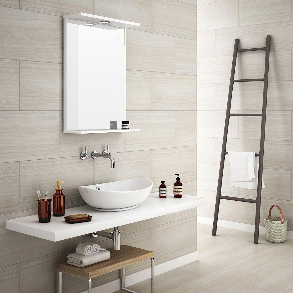 Monza Bone Wood Effect Tile Wall And Floor 600 X 300mm Large Image Bathroomtilefloorfarmhouse Bathroom Tile Designs Wood Tile Bathroom Wood Effect Tiles