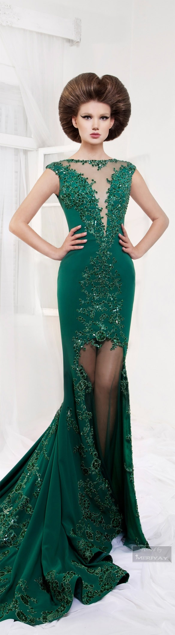 Tarek sinno haute couture pinterest gowns emeralds and formal