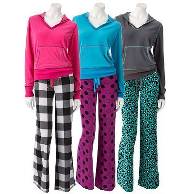 SO Microfleece Pajama Gift Set