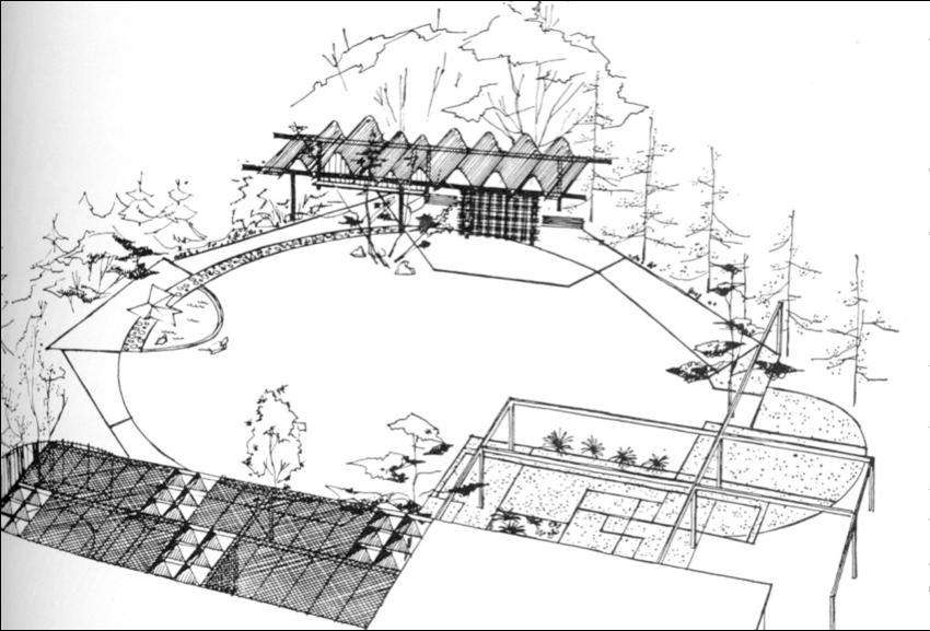 Garrett Eckbo Google Search Plan Sketch Landscape Plans