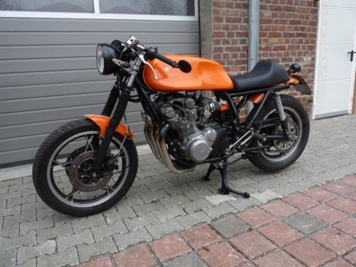 suzuki gs750 1000 umbau cafe racer in nordrhein westfalen halle westfalen ebay. Black Bedroom Furniture Sets. Home Design Ideas