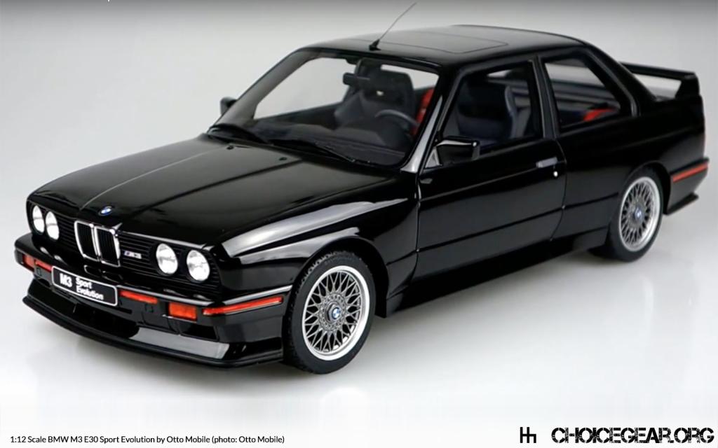 Otto Mobile Reveals 1 12 Scale E30 Bmw M3 Sport Evolution Choice Gear Bmw E30 Bmw M3 Sport Bmw