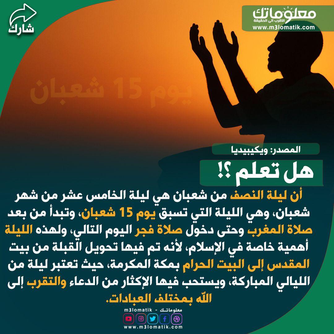 ليلة 15 من شعبان Libyan