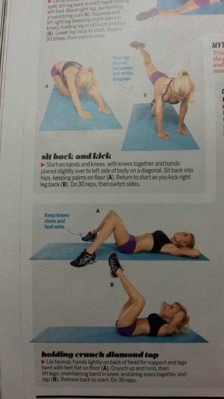 Chisel Abs & Tighten Glutes