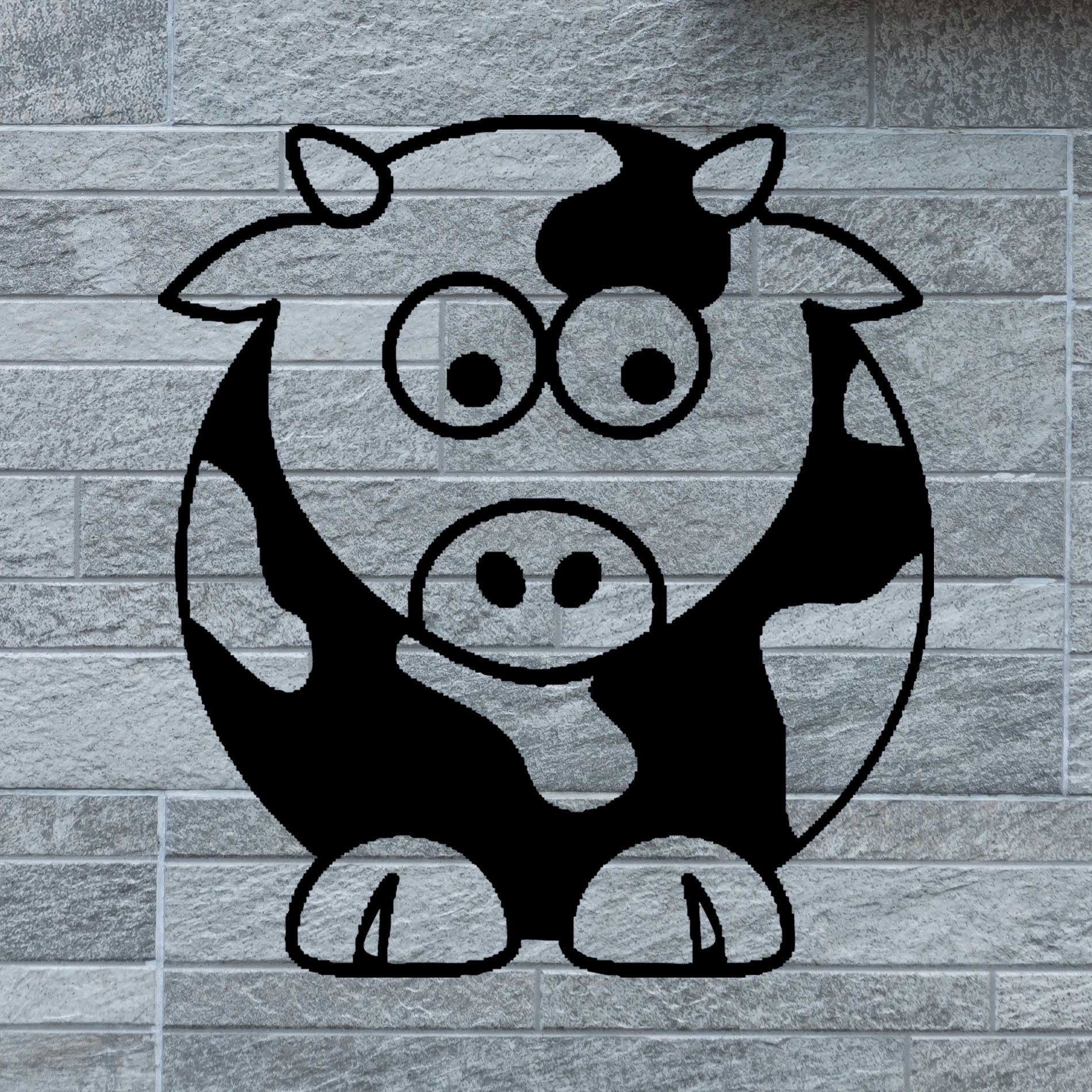 Baby Cow Decal Home Car Sticker Truck Laptop Computer Phone