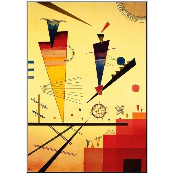 Art.com \'\'Merry Structure\'\' Wood Wall Art by Wassily Kandinsky ($122 ...