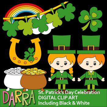 St Patrick S Day Celebration Clip Art Holidays St Patricks Day Clipart Clip Art Art