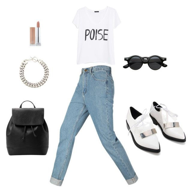 Miercoles witch Nov by erick-cortgar on Polyvore featuring moda, MANGO and Yves Saint Laurent
